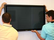 повесим телевизор на стену.монтаж, навес, установка телевизора в Донецке
