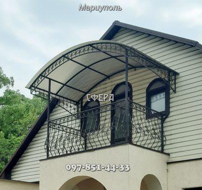 Ограждения балконные и простые,  из нержавеющей стали,  от производителя - main