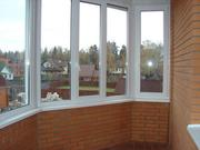 Остекление и облицовка балкона. - foto 1