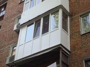 Остекление и облицовка балкона. - foto 3